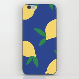 Lemons - Collage iPhone Skin