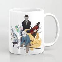 guardians Mugs featuring The Guardians by Kiell R.