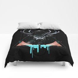 The Blue Deer Comforters