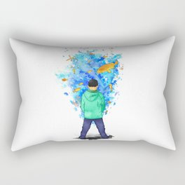 Never Ending Story Rectangular Pillow