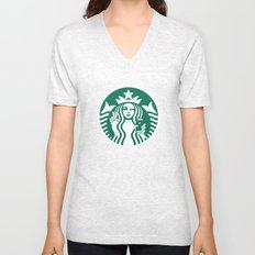 Selfie - 'Starbucks ICONS' Unisex V-Neck