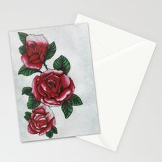 New roses Stationery Cards