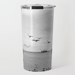 Tejo and the birds Travel Mug