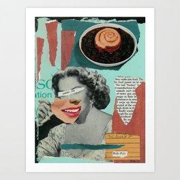 Processed American Art Print