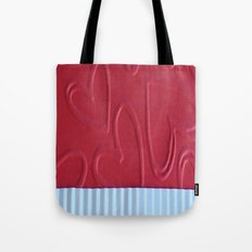 Red Heart Tote Bag