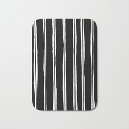 Uneven Stripes Bath Mat
