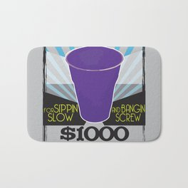 Wanted Purple Cup Bath Mat