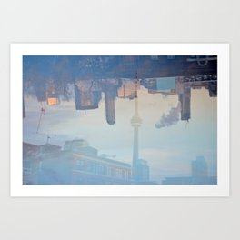 Toronto Vision Art Print