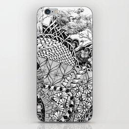 Black and White Design 7 iPhone Skin