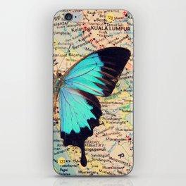 Flying home! iPhone Skin