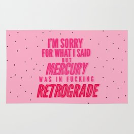 Mercury Retrograde pt. 2 Rug