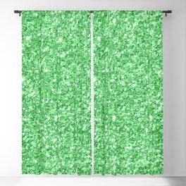 Green glitter texture print Blackout Curtain