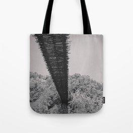 Monkey Sanctuary - Underside of bridge Tote Bag