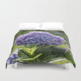 Hydrangea in Bloom Duvet Cover
