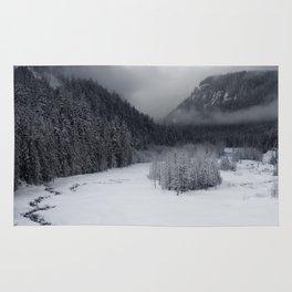 Snowy Morning Rug