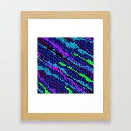 Knitting Night Framed Art Print