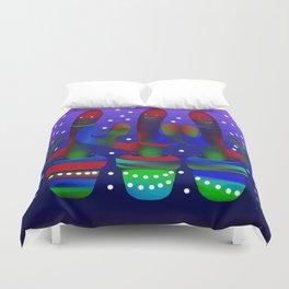 Cactus Rainbow 03 Duvet Cover