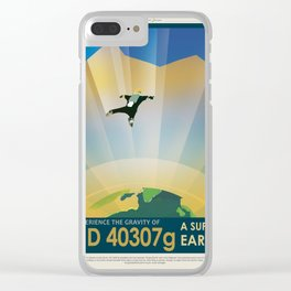 NASA Visions of the Future - Experience the Gravity of HD 40307g Clear iPhone Case