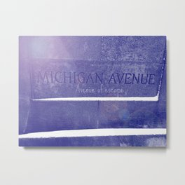 Avenue of escape Metal Print