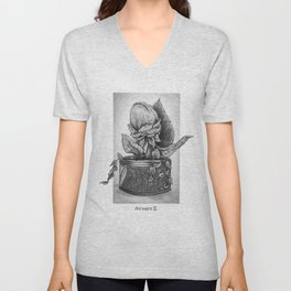 Audrey II. Little Shop of Horrors Unisex V-Neck