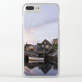 Peggy's Cove Nova Scotia Clear iPhone Case