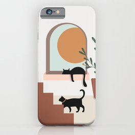 Sunset at Home iPhone Case