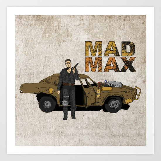 The Road Warrior Art Print