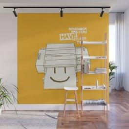 Printers and their feelings Wall Mural