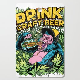 Drink Craft Beer Cutting Board