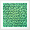 Cannabis / Hemp / 420 / Marijuana  - Pattern by badbugsart