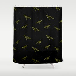 DINOSAUR JR Shower Curtain