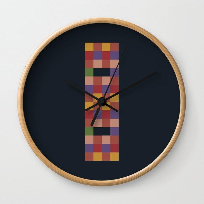 Mosaic Game Wall Clock