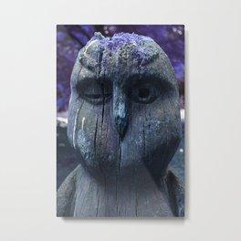 My Little Purple Forest Friend Metal Print