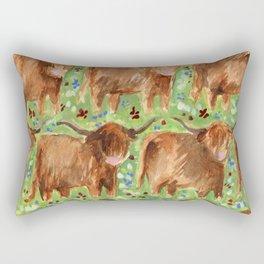Highland Cows Rectangular Pillow