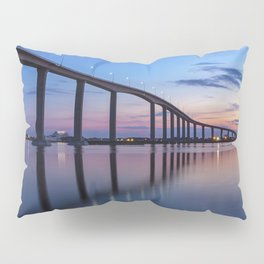 The Jordan Bridge at Twilight Pillow Sham