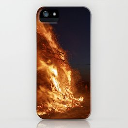 Easter fire - the winter is over (2) iPhone Case