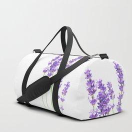 Lavender Duffle Bag