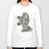pablo picasso Long Sleeve T-shirts featuring Pablo Picasso Triangulation by Triangulation Store