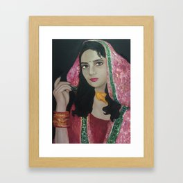 Pakistani Bride Framed Art Print