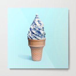 Antique Ice cream Metal Print