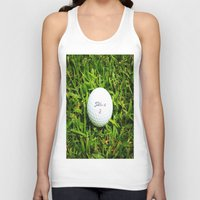 golf Tank Tops featuring GOLF by Cooper Designs
