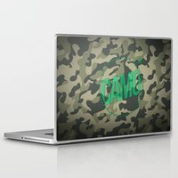 camo Laptop & iPad Skins featuring Camo by GabrieleCigna