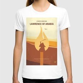 No772 My Lawrence of Arabia minimal movie poster T-shirt