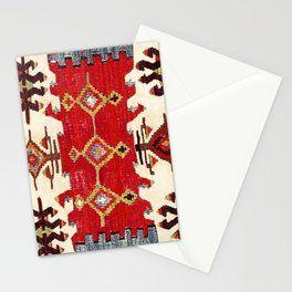Burdur  Antique South West Anatolia Turkish Kilim Print Stationery Cards