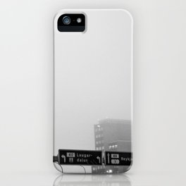 Reykjavík in the mist 2 iPhone Case