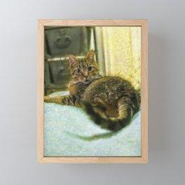 Toby Framed Mini Art Print