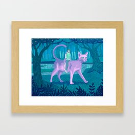 Paseo Framed Art Print