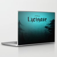 book cover Laptop & iPad Skins featuring Lychgate Book Cover 2.0 by SireneEntertainment