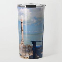 Blue Chair Islamorada Travel Mug