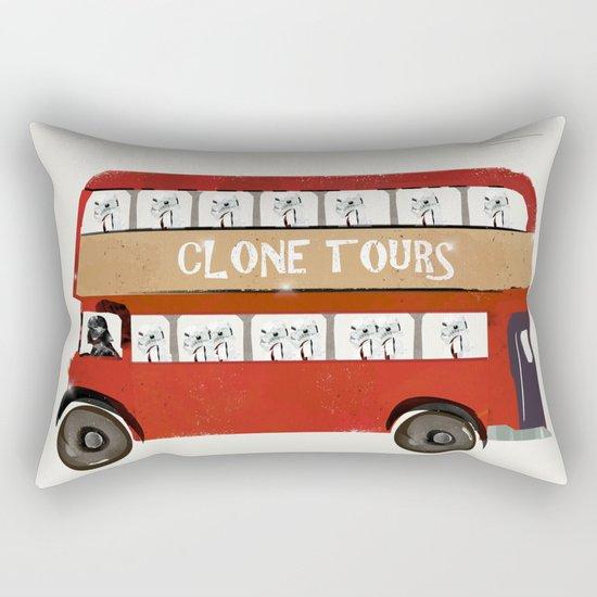 clone tours Rectangular Pillow